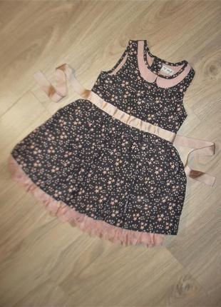 Нарядное платье на 12-18мес