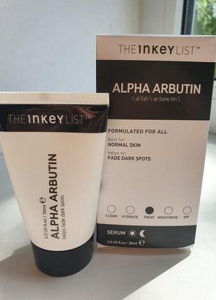 Сыворотка alpha arbutin от the inkey list