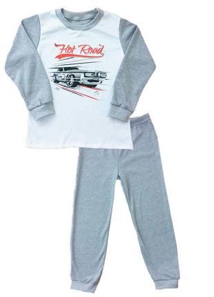 """Пижама подростковая для мальчика """"road"""""""