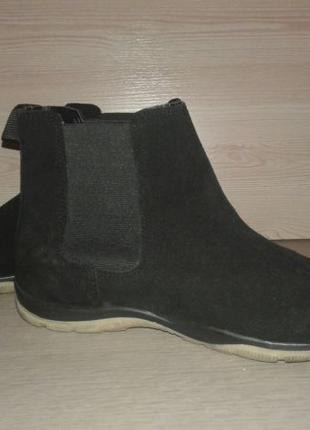 Ботинки, полусапоги челси натуральный замш