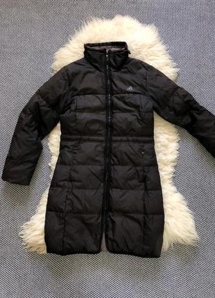 Пуховик adidas оригинал куртка пальто пух перо длинный спортивный