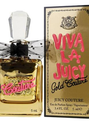 Juicy Couture Viva La Juicy Gold Couture_Оригинал EDP_5 мл затест