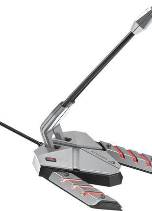 Vertux Streamer-3 LED, USB Grey (Микрофон для Стримеров)