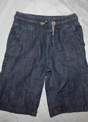 Шорты джинсовые на мальчика 6 лет 116см