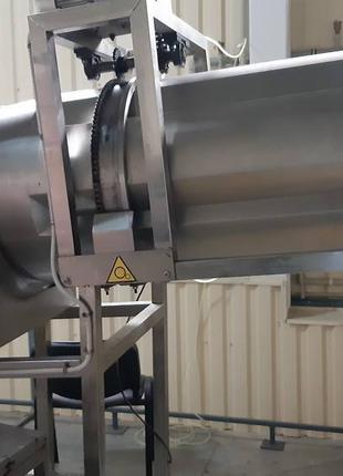 Линия для производства кукурузной трубочки и подушечки с начинкой