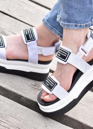 Босоножки женские летние обувь взуття босоніжки жіночі белые 3...