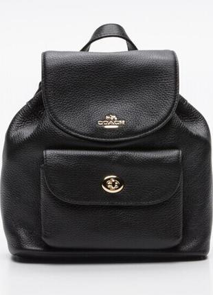 Новый рюкзак coach 100% кожа оригинал сумка коуч