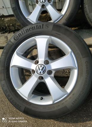 Диски литые Volkswagen Caddy VW Touran Jetta Golf R16(5*112)