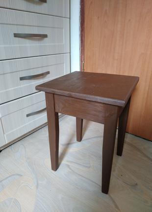 Табурет  деревянный, изготовление под заказ, ручная работа