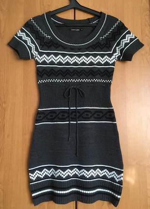 #розвантажуюсь облегающее вязаное мини платье для осени и зимы...