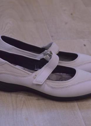 Ecco женские сандалии туфли кожа оригинал