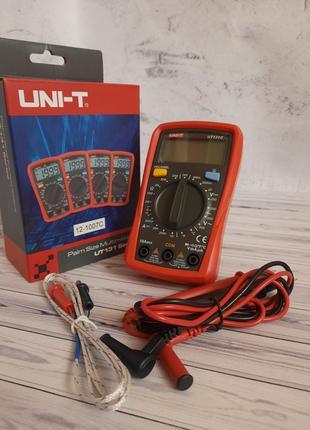 Мультиметр цифровой UNI-T UT-131C с подсветкой щупы