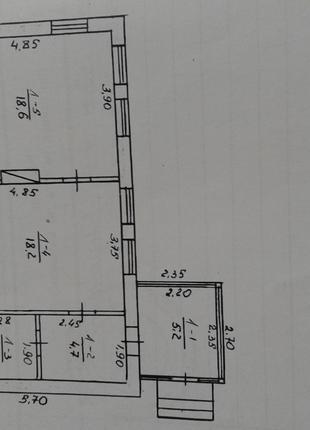 Обменяю или продам дом 55 м2 + 25сот в с. Вильск Житомирской обл.