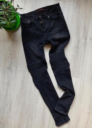 Джинсы скинни черные зара zara мужские одежда мужская