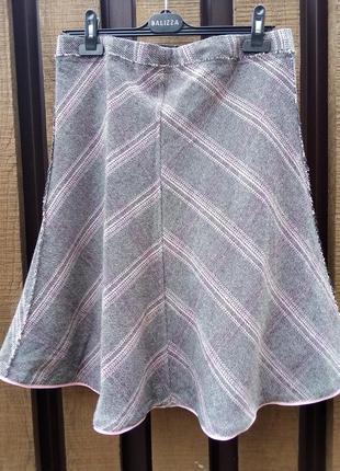 #розвантажуюсь. we fashion. теплая юбка-колокольчик.