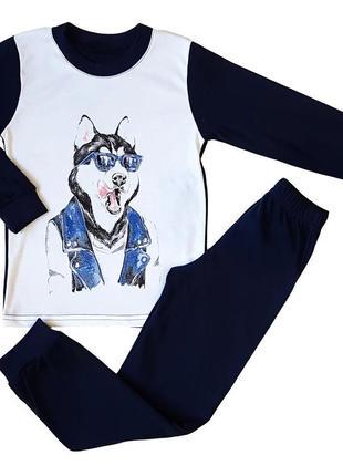 """Пижама подростковая для мальчика """"волк"""""""