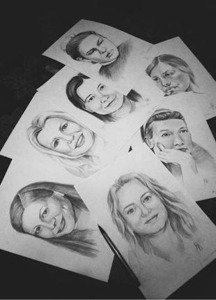Портрети, картини на замовлення