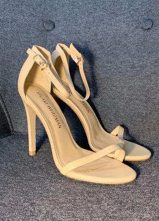 Босоножки, босоножки на каблуке, летняя обувь, Stuart Weitzman