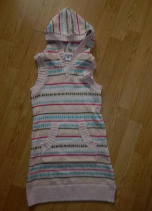 Платье-сарафан на девочку 5-6 лет