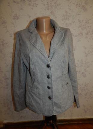 Marks&spencer пиджак жакет весенний летний р 14 per una