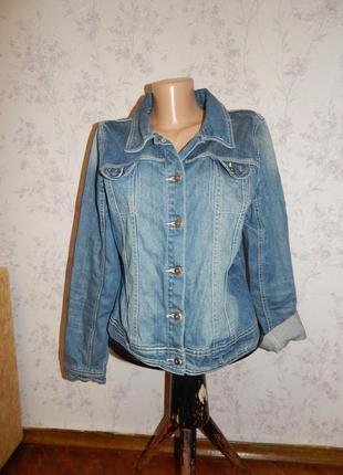 Bhs куртка джинсовая стильная модная р12 authentic