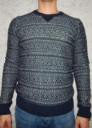 Marks&spencer свитер мужской стильный модный рs