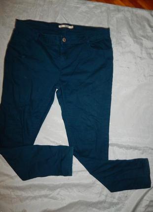 Dorothy perkins джинсы стильные модные р18 большой размер