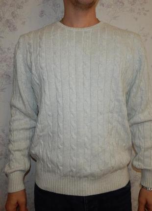Marks&spencer свитер котоновый стильный модный р l