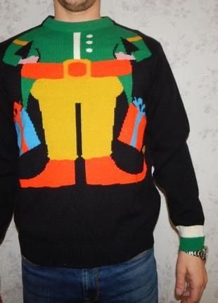 The customeshop свитер мужской новогодний рм