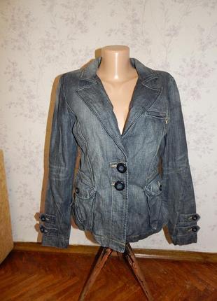 Next куртка джинсовая стильная модная, пиджак жакет р10