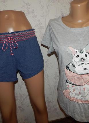Love to lounge пижама трикотажная скомбинированная футболка с ...