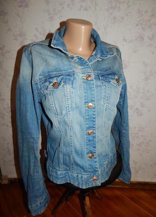 H&m куртка джинсовая стильная модная р14 logg