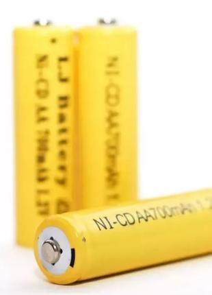 Аккумуляторы Ni-Cd AA 700mah 1.2V