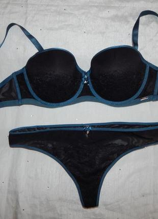 Bluebella комплект нижнего белья р14 38с fifty shades of grey
