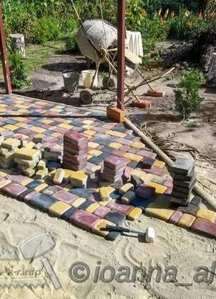 Сумы укладка плитки тротуарной