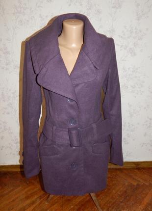 New look пальто демисезонное стильное модное р10
