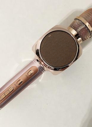 Беспроводной Bluetooth Микрофон для Караоке Микрофон DM Karaoke Y
