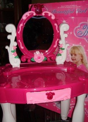 Детский туалетный столик - трюмо со стульчиком