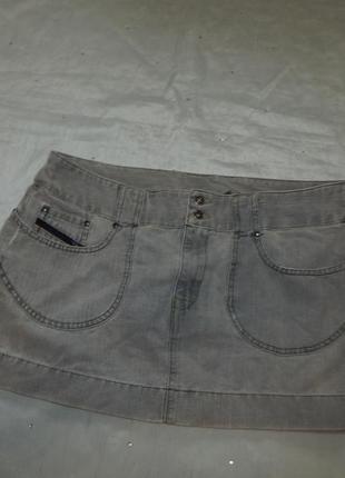 Diesel юбка джинсовая стильная модная рl 32