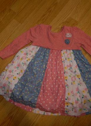 Платье на девочку 1,5-2 года