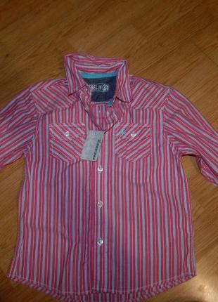 Рубашка на мальчика 5-6 лет
