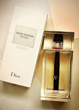 Мужская туалетная вода Christian Dior Homme Sport