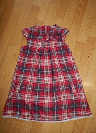 Платье на девочку 7-8 лет   h & m