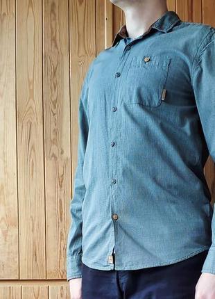 Стильная мужская рубашка в мелкую клеточку Cropp М