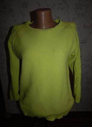 Brora свитер котоновый р12-14 маломерит