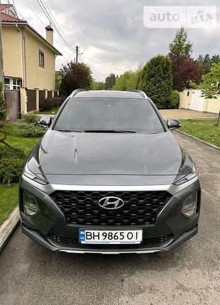 Hyundai Santa Fe 2019 2.2 diesel 4wd Exclusive