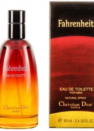 Christian Dior Fahrenheit мужской аромат 100 мл + ПОДАРОК