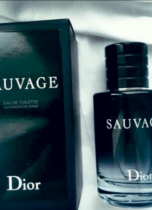 Dior Sauvage мужской парфюм духи 100 мл + ПОДАРОК