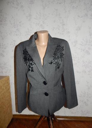 Taifun пиджак, жакет стильный модный р12