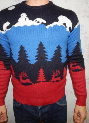 Cedar wood state свитер мужской новогодний стильный модный рs